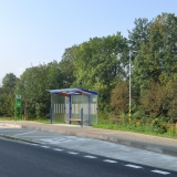 Zastávka - Vzdálený pohled